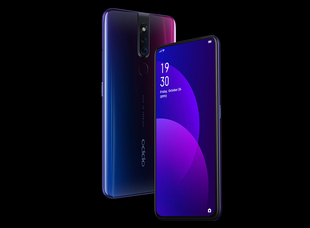 Free gifts await when you Pre-order OPPO F11 Pro