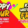 GSC HAPPY HOUR Promo & Kids Watch for FREE