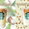 Starbucks Announces New Vegan Options - Almond Milk and Coconut Milk
