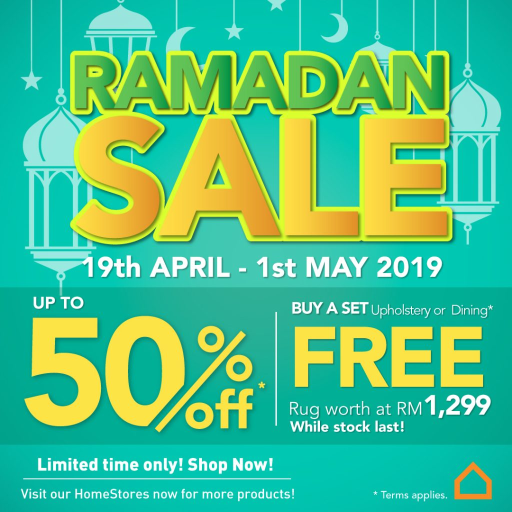 Ashley Furniture HomeStore Ramadan Sale