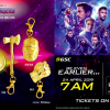 GSC - Avengers Endgame Ticket + Keychain Set