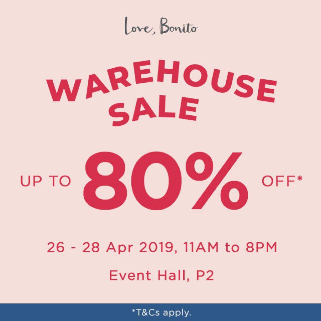 Love Bonito Warehouse Sale malaysia 2019
