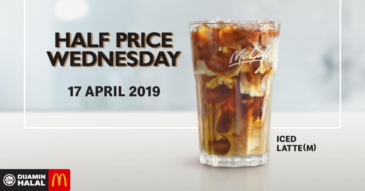 McCafe Half Price Wednesdays is Back