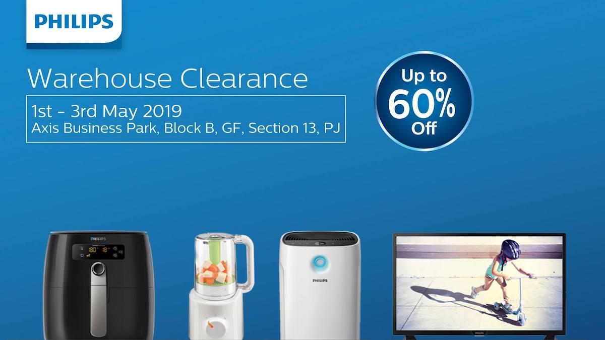 Philips Malaysia warehouse clearance sale 2019