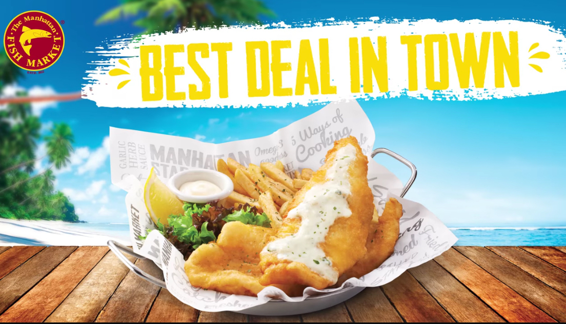 The Manhattan FISH MARKET is bringing back the Best Deal In Town from RM10