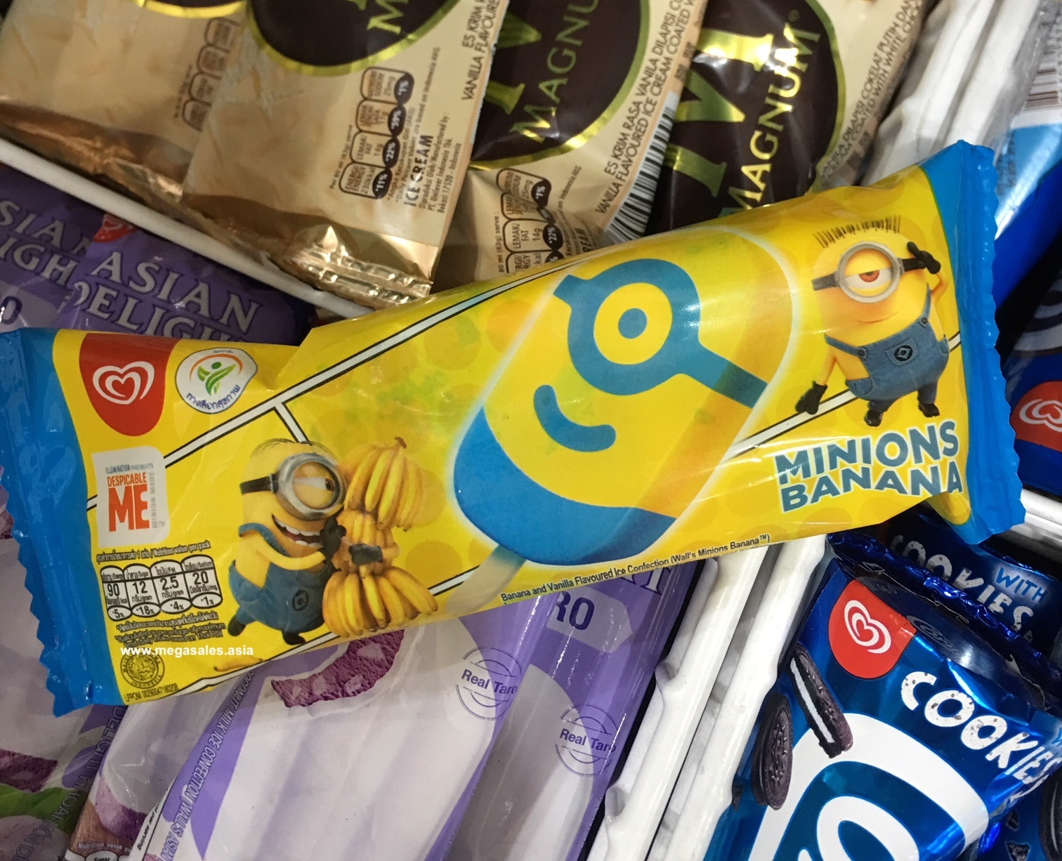 Wall's Malaysia is Offering a Free Minions Ice-Cream for One Day only