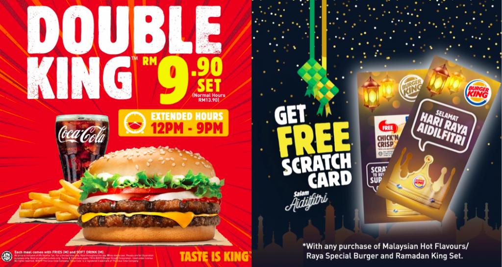 Burger King Malaysia ramadan promotion 1