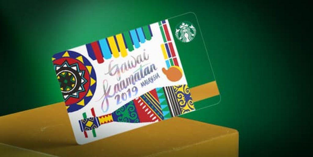 Gawai Kaamatan Starbucks Card