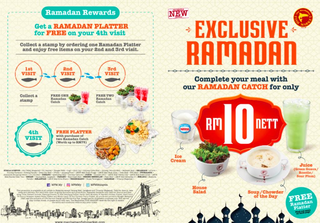 Manhattan Fish Market ramadan promotion