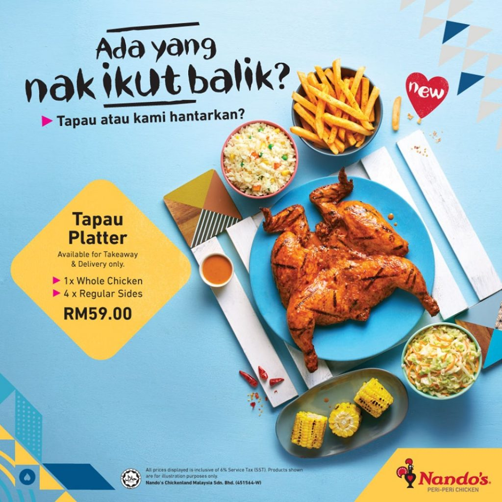 Nandos Ramadan take away
