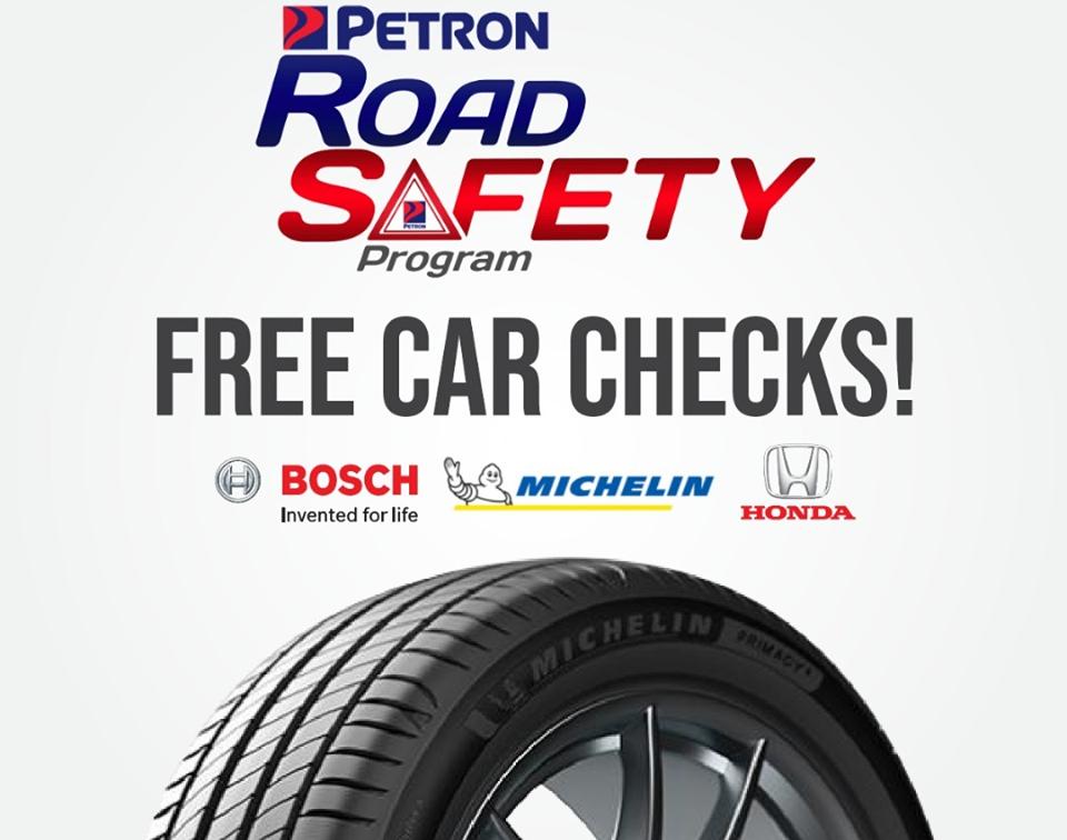 Petron Road Safety Program - Free Car Checks