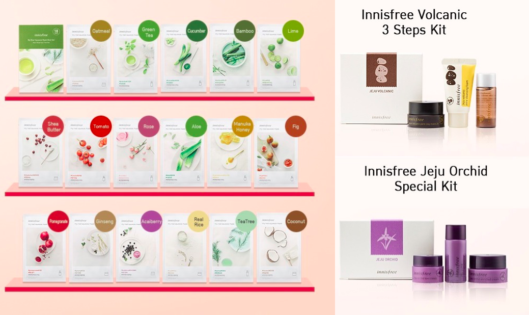 innisfree – May Free Gifts + Mask Promotion