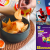 7-Eleven Malaysia offers Lay's Salted Egg Yolk Chips, Oreo X Spiderman Keychain