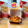 Burger King Malaysia offers Father's day Promotion with Free Heart-shaped Nuggets