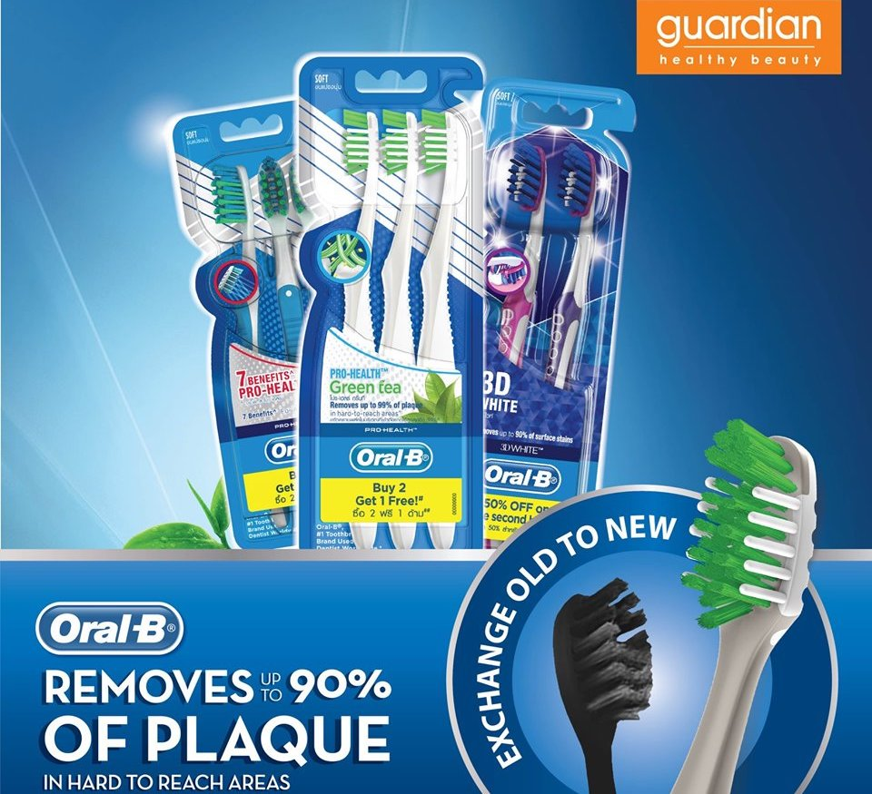 FREE Oral B Pro-health Toothbrush - Exchange Program