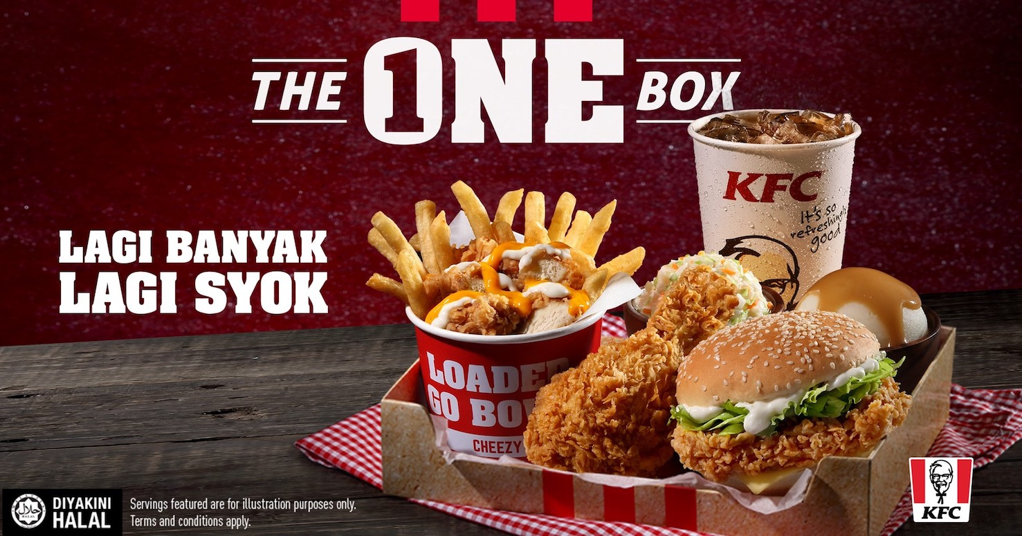 KFC Malaysia releases The One Box Promotion