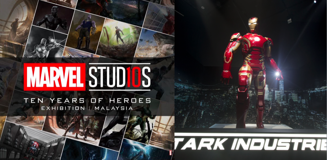 Marvel Studios Ten Years of Heroes Exhibition in Malaysia - Ticket Price and Exclusive Discounts
