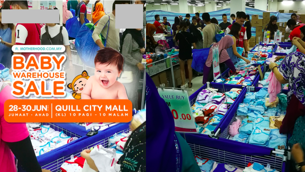 Motherhood.com.my Baby Warehouse Sale @ Quill City Mall