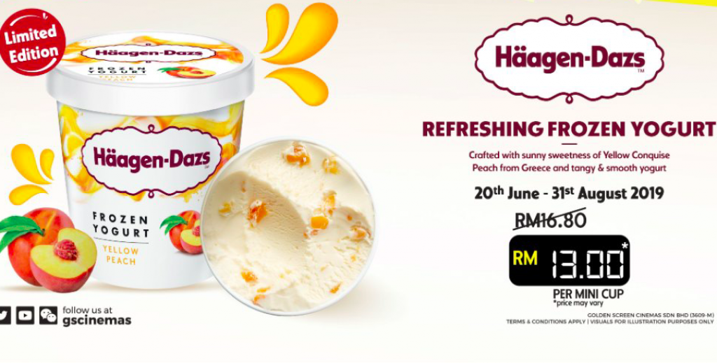 RM13 Haagen Dazs Ice Cream mini cup