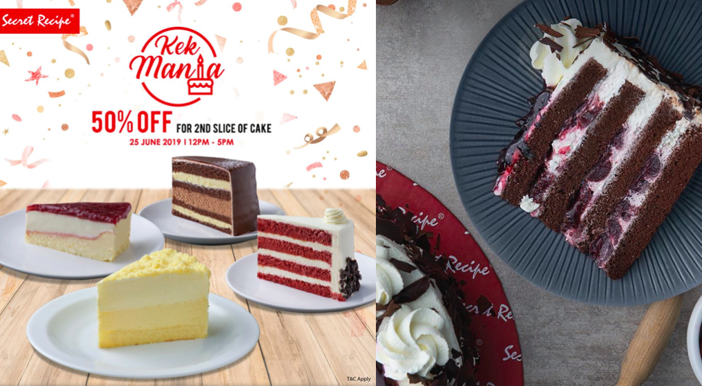 Secret Recipe Kek Mania Promotion is Back