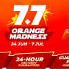 Shopee Launches Orange Madness with RM0.77 Shocking Sale, Shopee24 Express Delivery and more