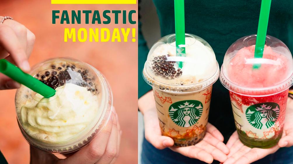 Starbucks Monday Promotions till 15th July 2019