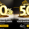 TGV Cinemas X Maybank Card - All Year Long Deals 2019