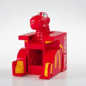 Dino Happy Meal Box Changeable McDonalds 1991