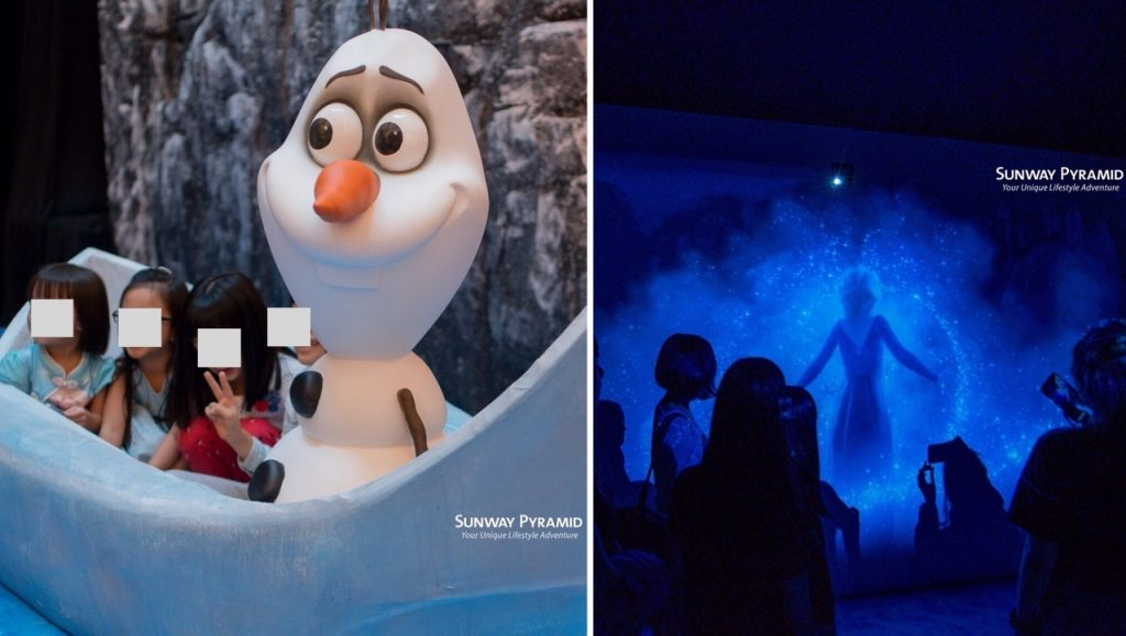 Disney's Frozen 2 Magical Event is happening at Sunway Pyramid now olaf show