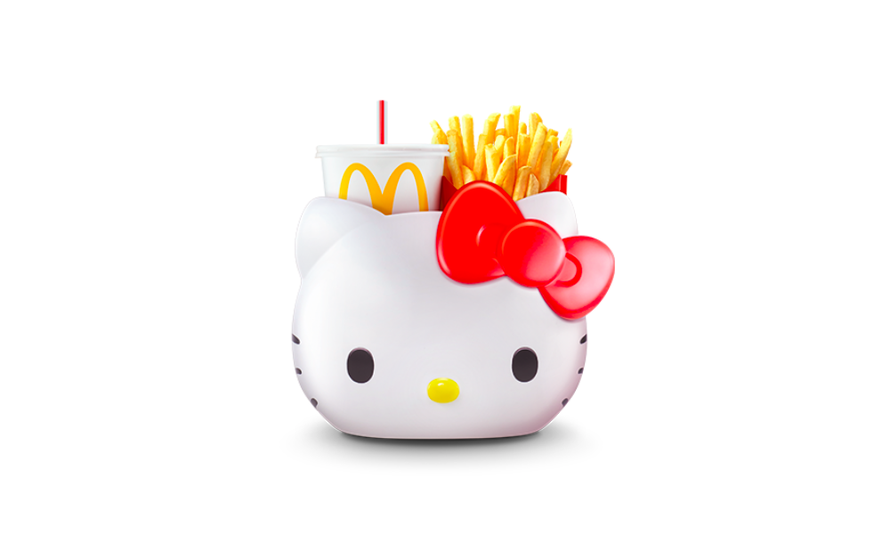 Hello Kitty carrier in McDonald's Malaysia