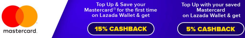 Lazada Malaysia Mastercard Cashback promotion