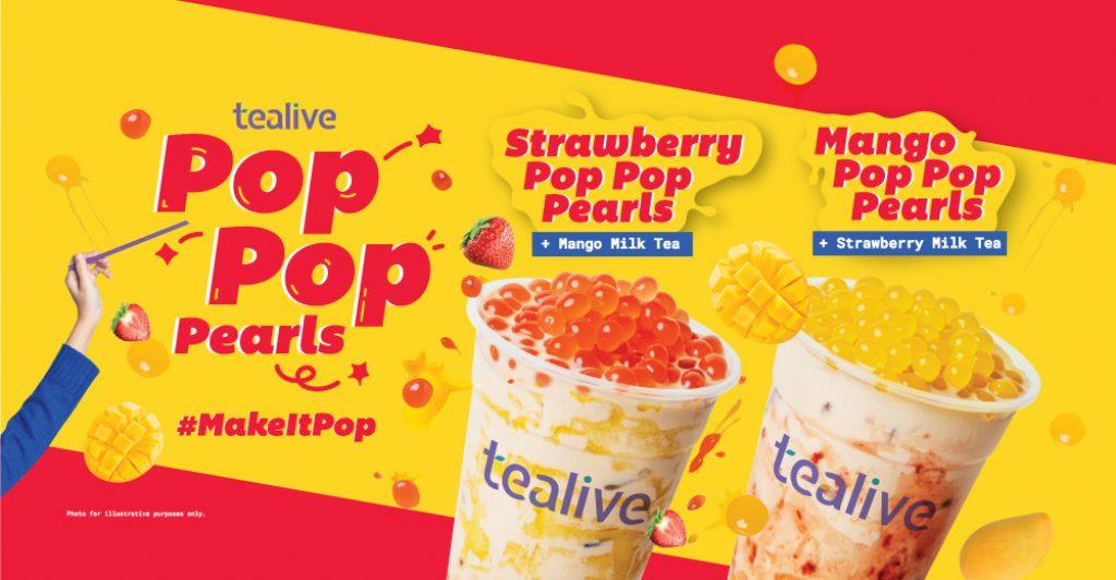 Tealive unveils newPop Pop Pearls drinks