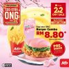 Marrybrown Super Ong Deal for only RM8.80 One Day Only