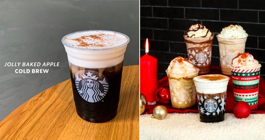 Starbucks Jolly Baked Apple Series starting from RM10